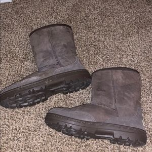 Dark Brown UGG Short Revival Boots